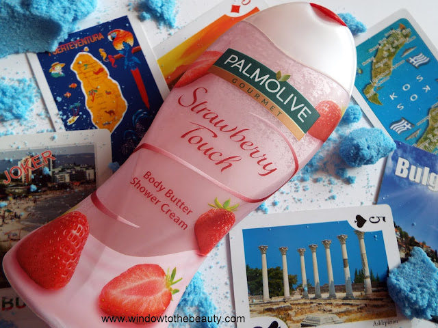 Strawberry Touch Body Butter Shower Cream