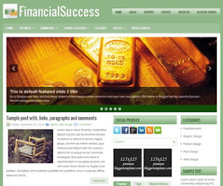 FinancialSuccess Blogger Template