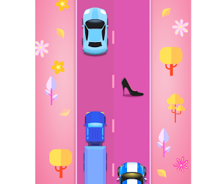 Girls Race Endless car racing game