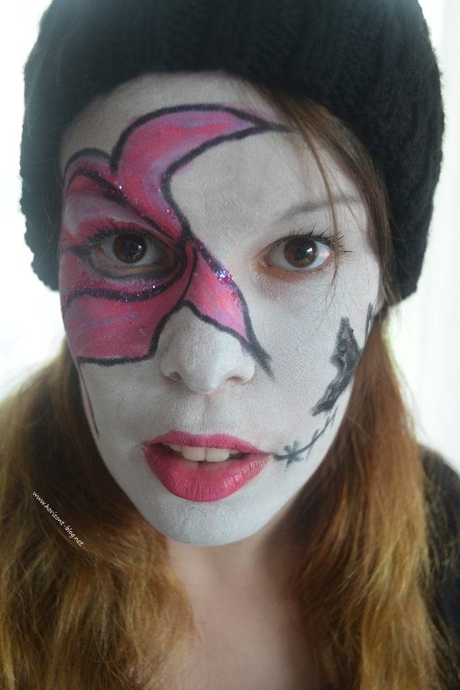 Halloween Makeup Fledermaus Trifft Pink Horizont Blog
