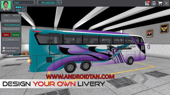 Free Download Bus Simulator Indonesia Mod Apk (Unlimited Money) Android Full Latest Version Terbaru 2017