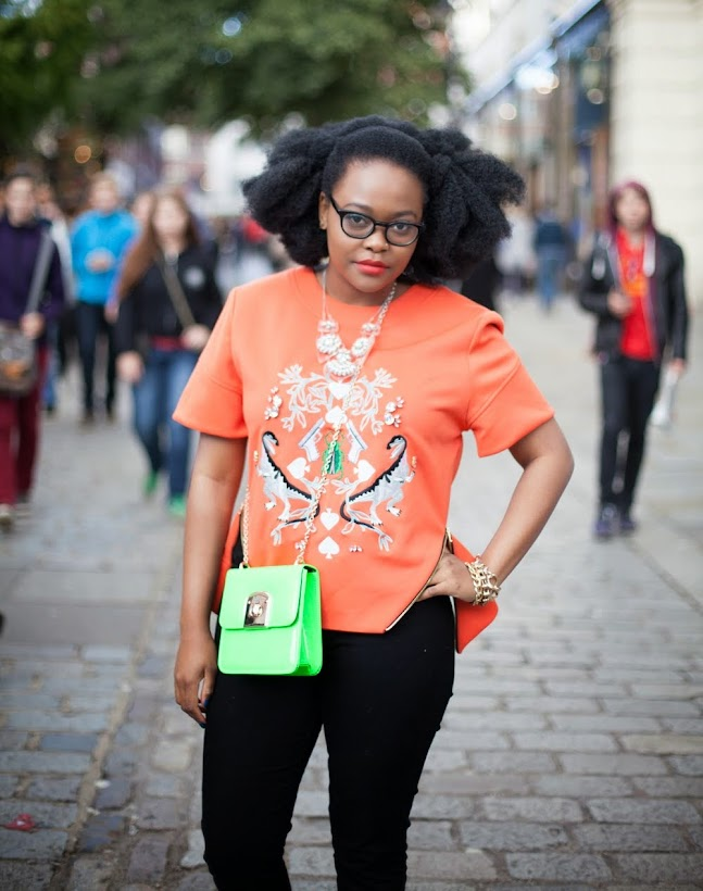 LONDON FASHION WEEK DAY 4 OUFIT