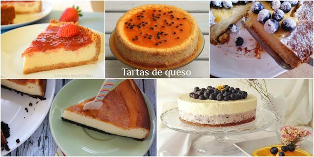 5 de las mejoresTartas de queso. Parte I