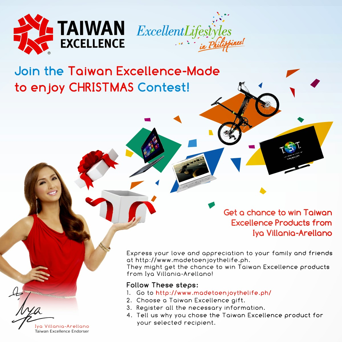 """Join """"Made to Enjoy Christmas Contest"""" and get a chance to ..."""