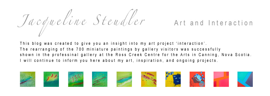 Jacqueline Steudler Art and Interaction