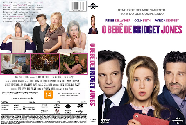 Capa DVD O Bebê de Bridget Jones