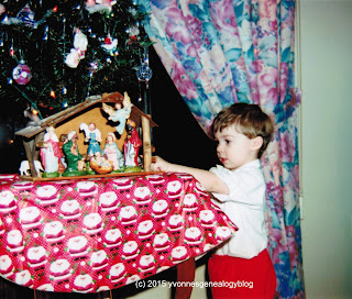 Nicholas Demoskoff on Christmas 1994