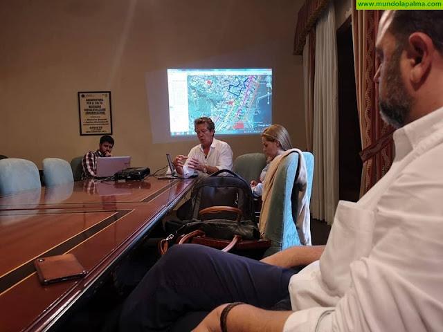 Casco Histórico de Santa Cruz de La Palma participa en una reunión del Plan de Movilidad Urbana Sostenible