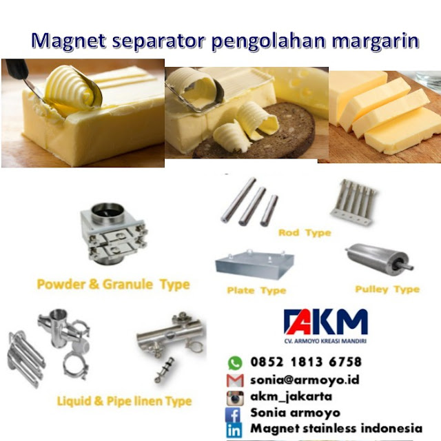 magnet pengolahan margarin