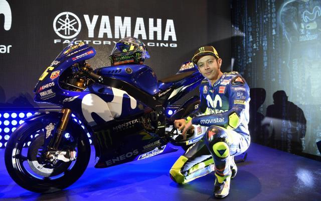 Valentino Rossi Puas Sasis Baru yang diberikan Tim Yamaha