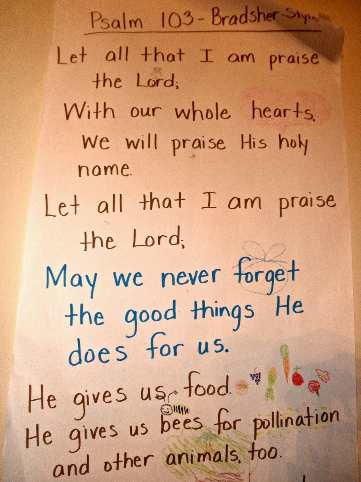 How To Write A Psalm Of Gratitude