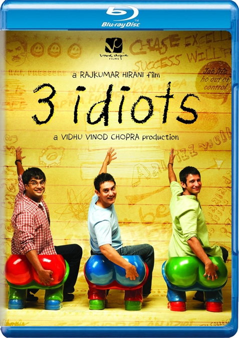 Image result for 3 idiots br rip cover