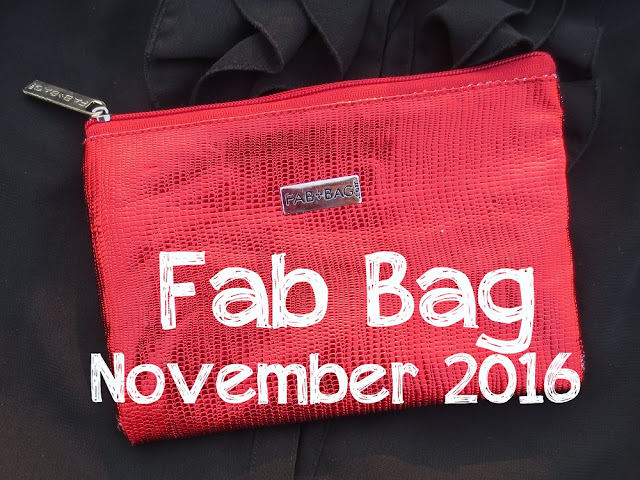 FabBag Get Set Glow November 2016