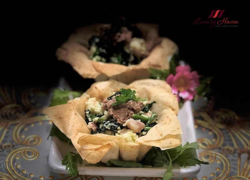 party food organic filo pastries recipe