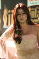 Nidhi Subbaiah Glamorous Pics in Transparent Peachy Gown at IIFA Utsavam Awards 2017  HD Exclusive Pics 43.JPG