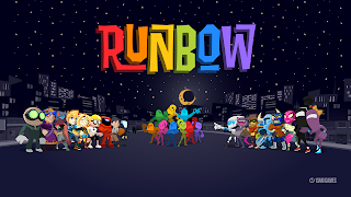 Runbow Cover Wallpaper