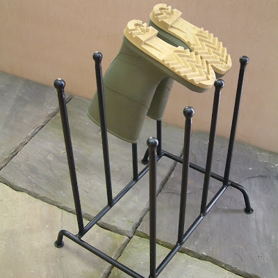 forged boot rack