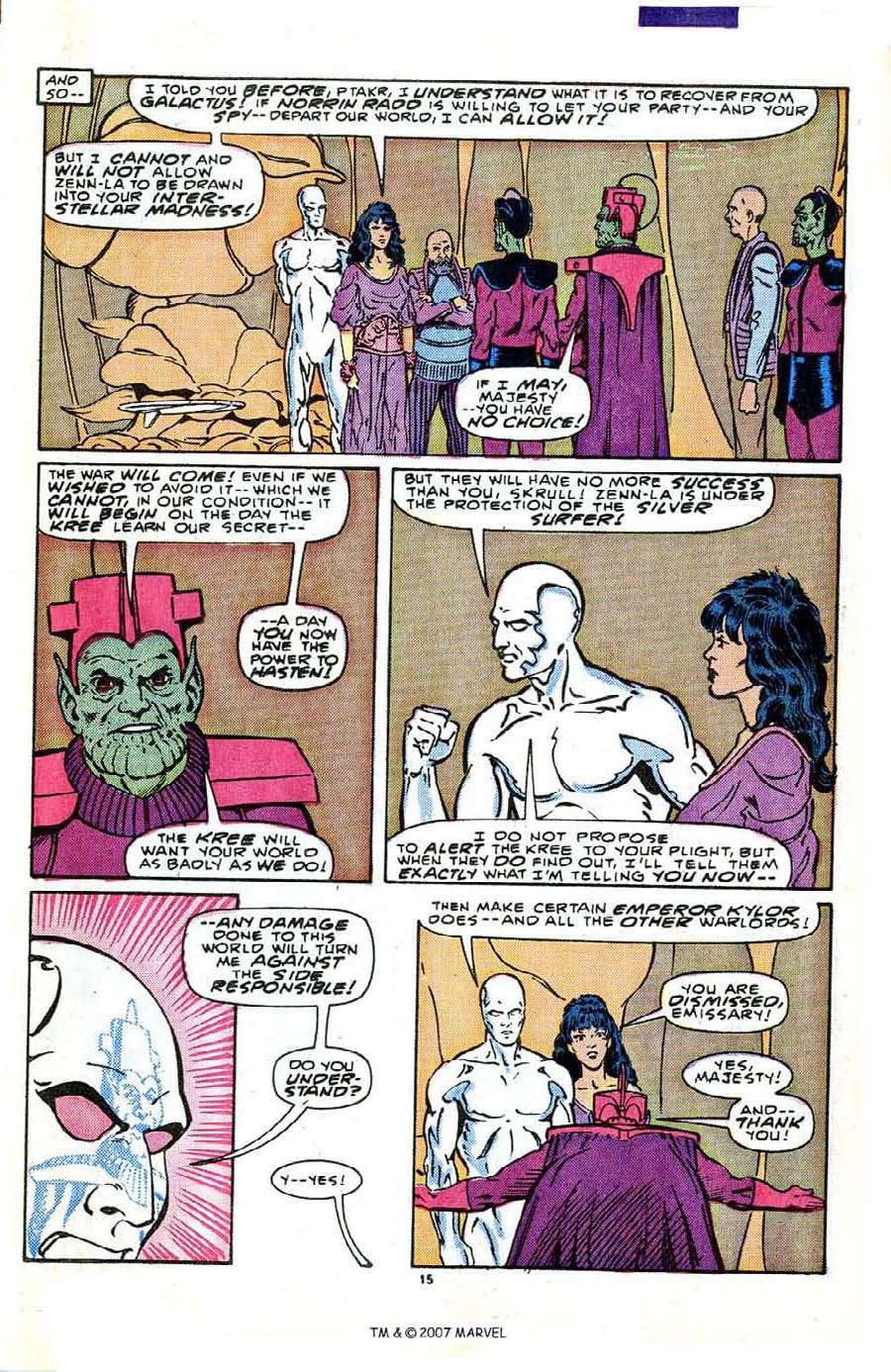 Read online Silver Surfer (1987) comic -  Issue #2 - 21