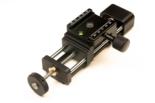 Hejnar PHOTO MS4-20-2 Macro Rail - F72b QR clamp reorientation