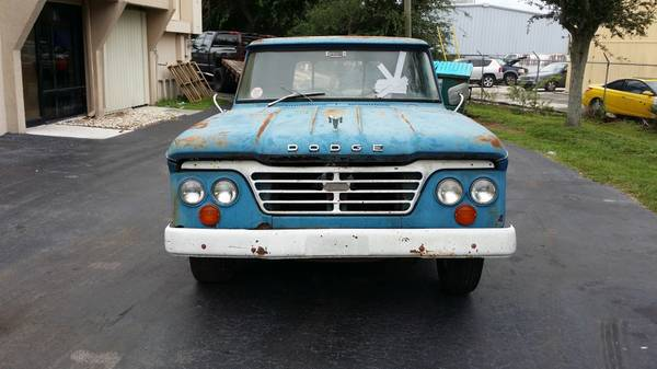 1964 Dodge D100 Truck Old Truck