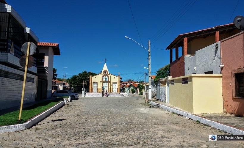 Capela de São pedro, em Morro Branco e Praia das Fontes - Tour 3 Praias