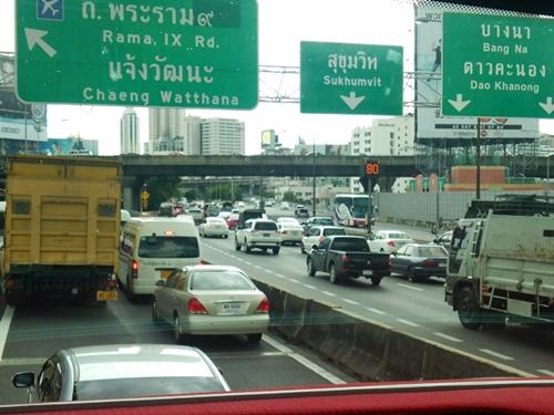 バンコクは想像以上の都会でびっくりです