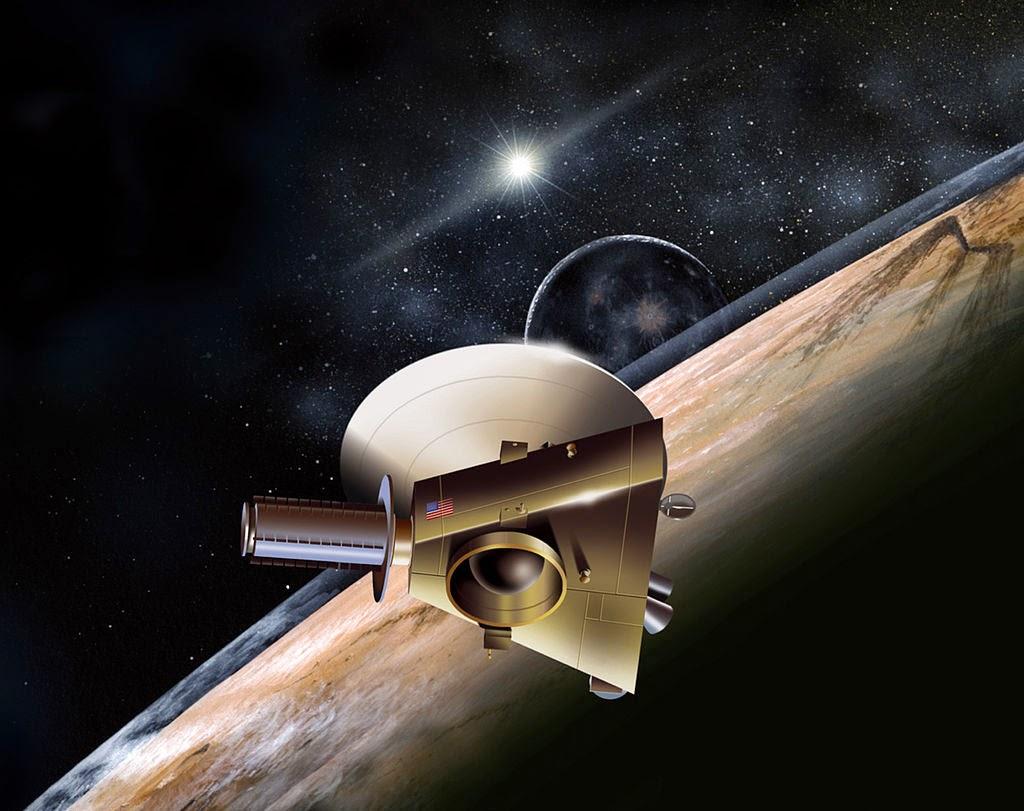 Astrofísica y Física: ¿Por qué New Horizons no se quedará ...