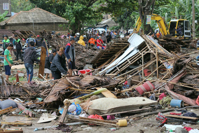 At Least 222 Dead After Tsunami Sweeps Indonesia Beach