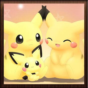 Famille Pikachu - Avatar en HD