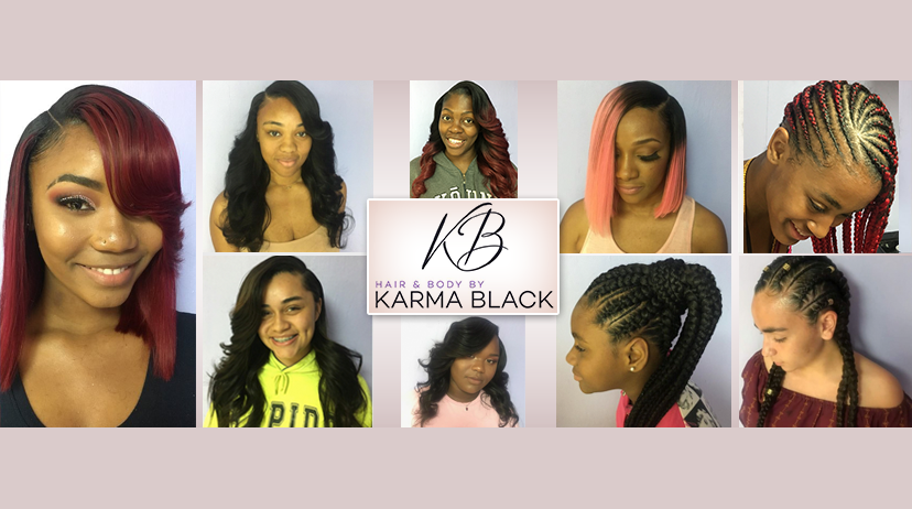 Best Sew In Hair Salon Located In Fort Lauderdale Hair By Karma Black