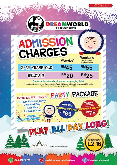 DreamWorld Indoor Playland, IOI City Mall Putrajaya,