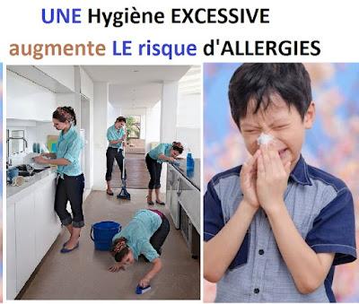 Une hygiène excessive augmente le risque d'allergies