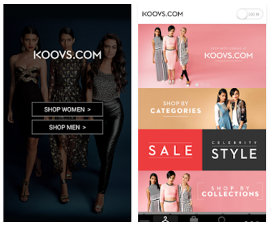 KOOVS - THE ONLINE FASHION STORE