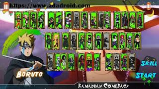 Naruto Senki Mod RCB by Squisy Apk