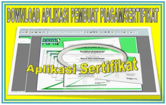 Download Aplikasi Pembuat Sertifikat/ Piagam Gratis
