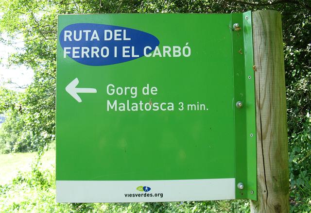 Gorg de Malatosca, Ripollès.