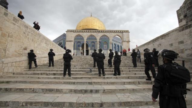 Le Maroc a soutenu la résolution Palestienne pour la propriété du Mont du Temple à Jérusalem.