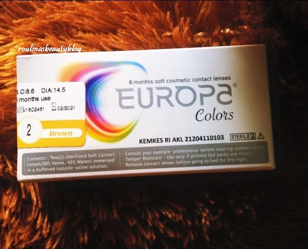 Softlens Europa Colors