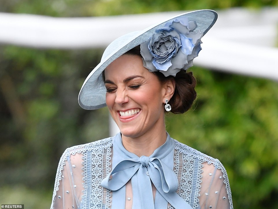 Duchess Kate Attends Ascot 2019