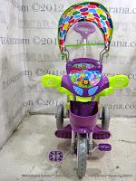 Sepeda Roda Tiga Royal RY2082C Police Kanopi