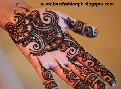 Henna Or Mehndi : Latest girls henna or mehndi collection for eid fashion