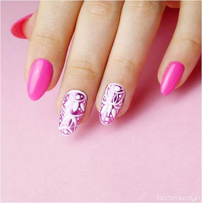 Alu Flakes Pink