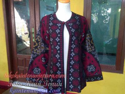 Baju Tenun Ikat Wanita Murah