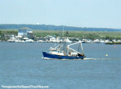 Scenic Views of Cape May Harbor in New Jersey