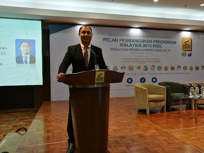 Cikgu Hailmi di Seminar Memacu Pembelajaran Abad 21 di Kuantan, Pahang