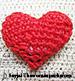 """Lesson 1 """"Small Heart Amigurumi"""""""