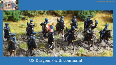 US Dragoons with Command picture 1