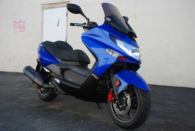 fuel injected 09 kymco xciting 250 for sale in los angeles