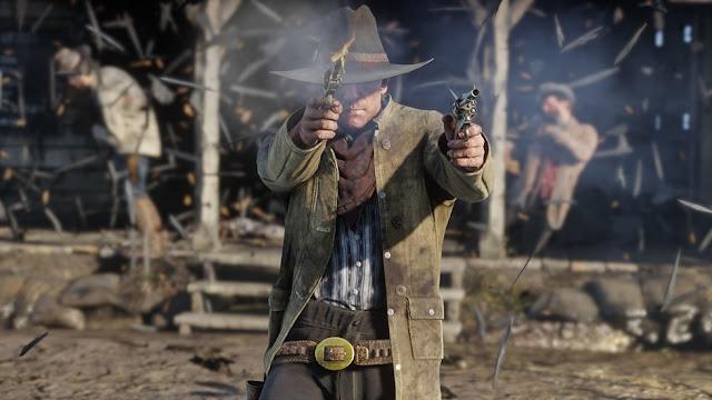 لنشاهد بالفيديو الكشف عن بعض اللقطات من خريطة لعبة Red Dead Redemption 2 و تفاصيل مثيرة …