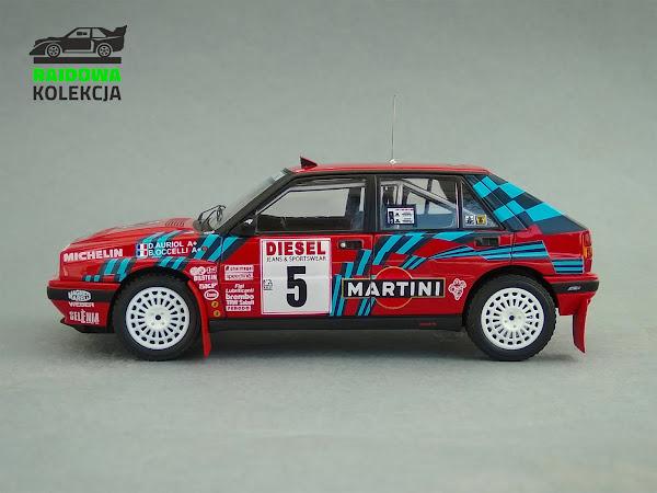 HPI Racing Lancia Delta Integrale 16V, Rajd Sanremo 1989